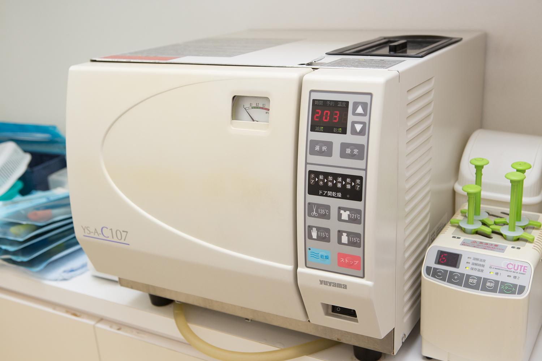 消毒滅菌器